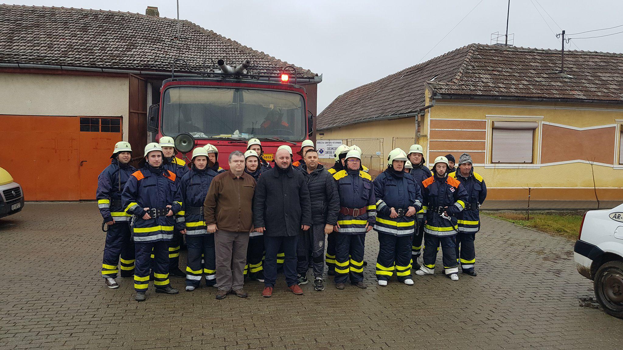 pompieri Felnac